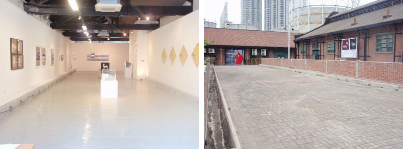 1a space is an non-profit exhibition space founded in 1998 showing Hong Kong contemporary artist's works and organize workshops and activities. 1a space http://www.oneaspace.org.hk/ Unit 14, Cattle Depot Artist Village, 63 Ma Tau Kok Road, To Kwa Wan, Kowloon, Hong Kong