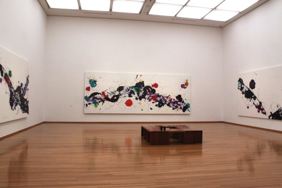 "Sam Francis ""Untitled(SPF85-95)"" ""Untitled(SPF85-109)"" ""Untitled(SPF85-110)"" (1985)"