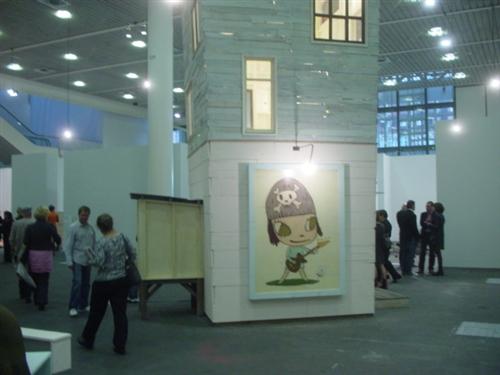 "Yoshitomo Nara Installation ""Torre de Malaga"" 2007 (Art 40 Basel - Art Unlimited)"
