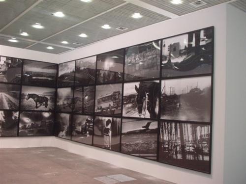 "Daido Moriyama Installation ""Hokkaido"" 1978/2009 (Art 40 Basel - Art Unlimited)"