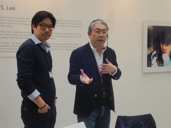Gallerist of One And J. Gallery, from Korea