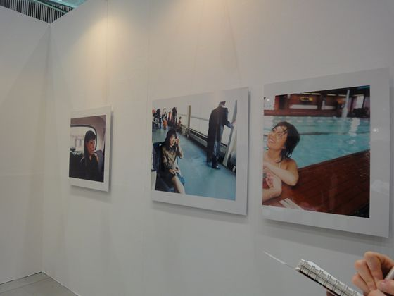 One And J. Gallery, from Korea showing photographs by Nikki S. Lee.