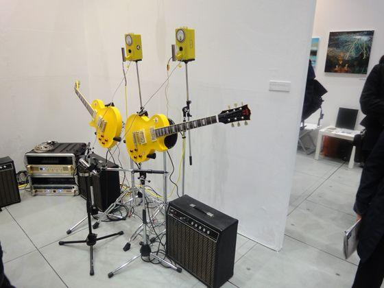 SNOW Contemporary was showing Fuyuki Yamakawa's Atomic Guitar.
