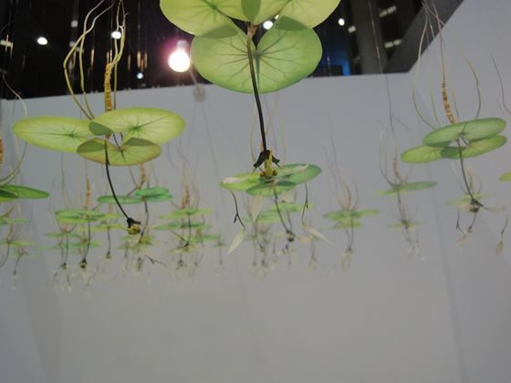 Imaginary insects created by Hiroshi Shinno at YOD gallery.