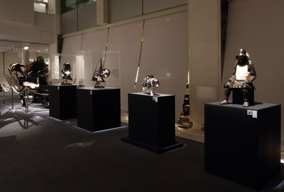 "installation view ""BASARA"" at Spiral Garden, 2010, photo by Kei Miyajima Courtesy Mizuma Art Gallery"