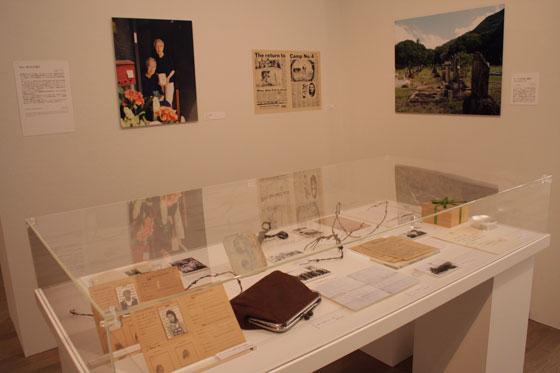 exhibition view of Mutsumi Tsuda's work