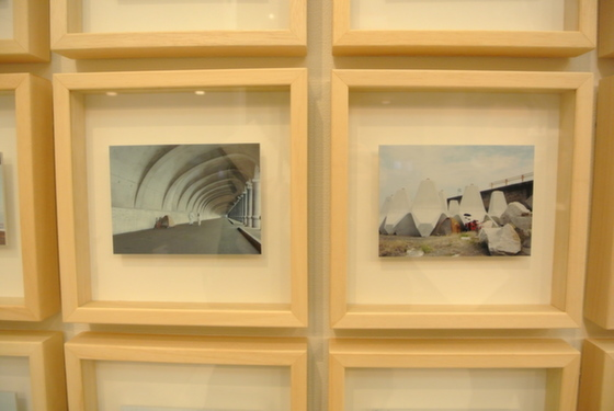 """Exhibition view of """"Site, 2011"""" by Takashi Tsuda"""