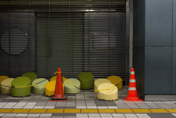 """Exhibition view of """"(True Sleeper) Bench not for sitting on #2, 2013"""" by Takashi Tsuda"""