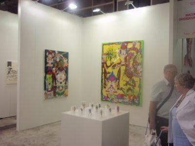 AZITO's partner gallery, NANZUKA UNDERGROUND (booth#G17) is showing, Keiichi Tanaami, Hajime Sorayama, Hiroki Tsukuda, Tatjana DOLL, Todd James.