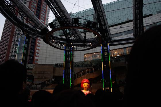 opening ceremony of Roppongi Art Night ??