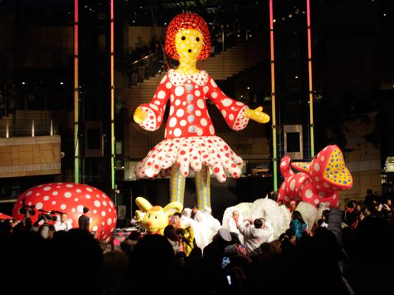 opening ceremony of Roppongi Art Night??