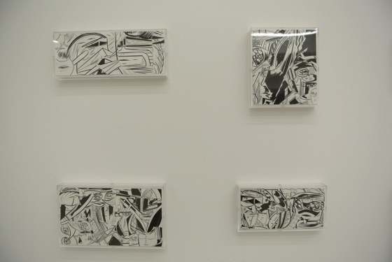 Installation view of Yuichi Yokoyama at Arataniurano.
