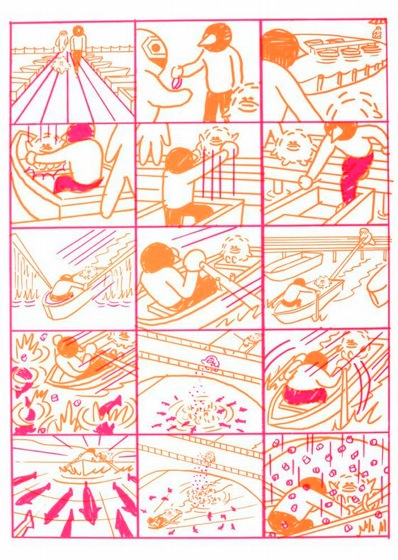 "Yuichi Yokoyama ""Boat (Part)"" from the book Baby Boom"