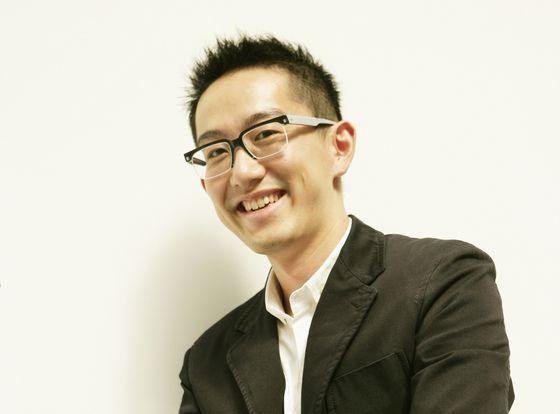 Executive director of Art Fair Tokyo, Takahiro Kaneshima