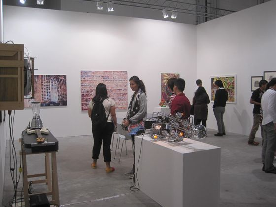 NANZUKA and Yamamoto Gendai booth in Art Stage Singapore 2012