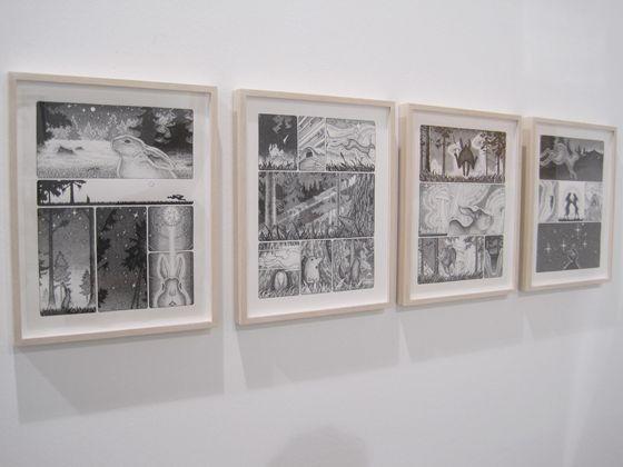 Atsushi Fukui's 'the meadow of bunnies'
