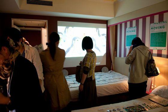 View of ART KYOTO 2012, Hotel Monterey Kyoto, MOVING 2012   photo by Yoshikazu Inoue