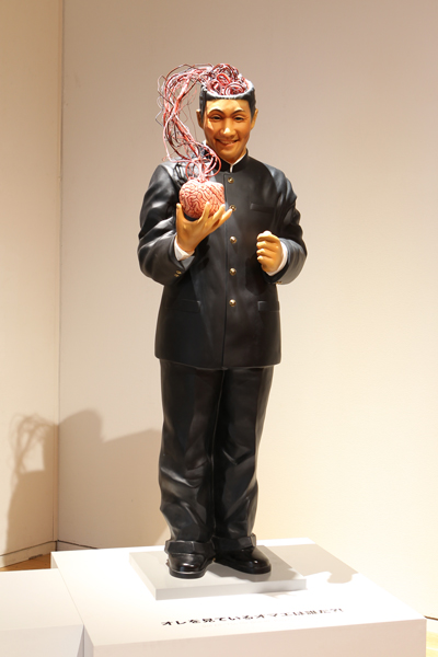 """Beat Takeshi Kitano, Gosse de peintre"" Tokyo, 2012 (Who are You Who is Looking at Me?!, 2009) Exhibition commissioned by Fondation Cartier pour l'art contemporain, Paris, 2010 © Office Kitano Inc."