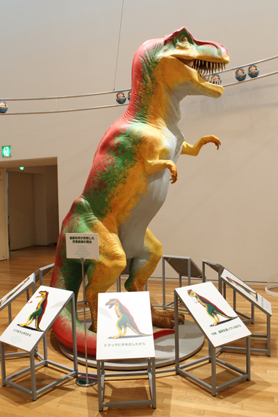 """Beat Takeshi Kitano, Gosse de peintre"" Tokyo, 2012 (Modern Science Reveals The Truth about Dinosaur Extinction, 2009) Exhibition commissioned by Fondation Cartier pour l'art contemporain, Paris, 2010 © Office Kitano Inc."