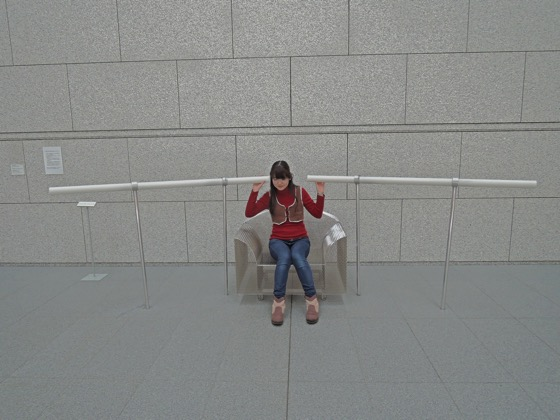 """Yukio Fujimoto """"Ear With Chair"""" (1990/2007)"""