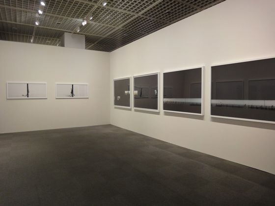 "Exhibition view Maiko Haruki's works in ""elan photographic"" at Tokyo Metropolitan Museum of Photography"