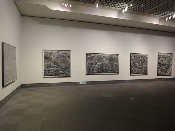 "Exhibition view Sohei Nishino's works in ""elan photographic"" at Tokyo Metropolitan Museum of Photography"
