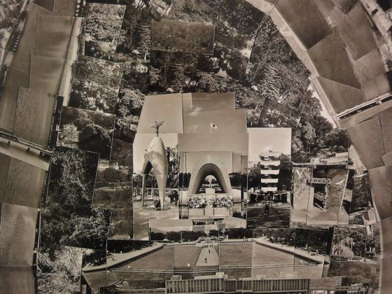 "Detail of ""Diorama Map Hiroshima 2003"" by Sohei Nishino"