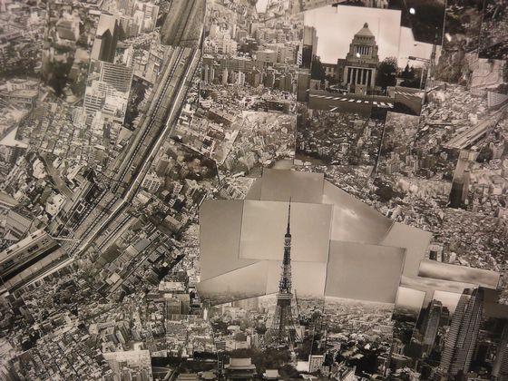 "Detail of ""Diorama Map Tokyo 2004"" by Sohei Nishino"