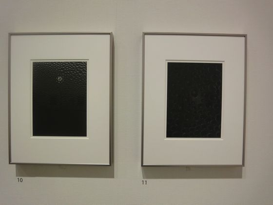 """55-34 2011""(left) and ""55-32 2011""(right) both by Kazuyuki Soeno."