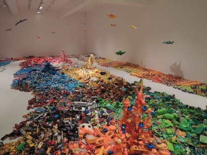 """Hiroshi Fuji """"Where have all these toys come from?"""" at 3331 Arts Chiyoda"""