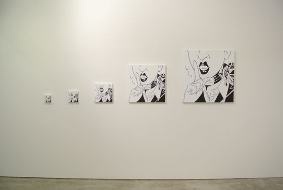 "Exhibition view of Tomoko Fukushi ""Boarding"" at Yamamoto Gendai."