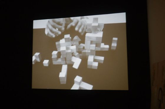 Video work by Kohei Kobayashi at YAMATOMTO GENDAI (Azito's partner)