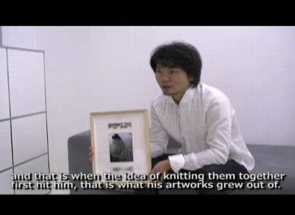 Gallerist talks about Kosuke Tsumura
