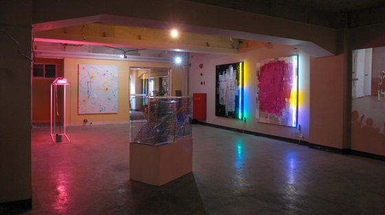Exhibition view of second room