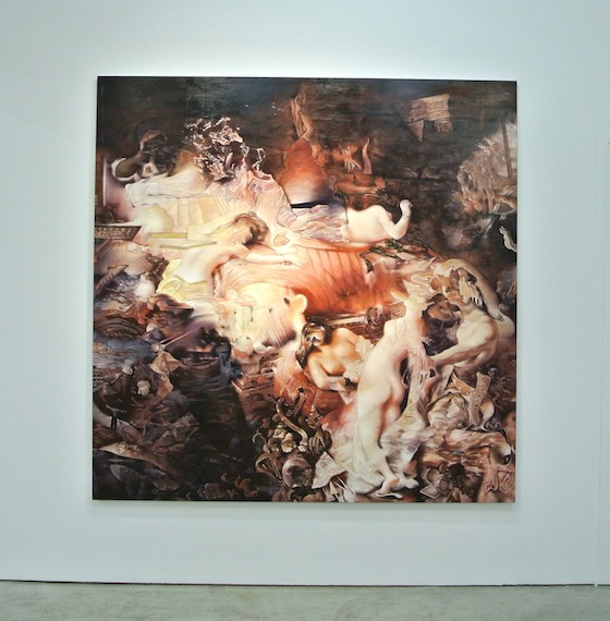"Kei Imazu ""Study for Death of Sardanapalus"""