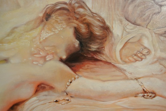 "Detail of Kei Imazu ""Study for Death of Sardanapalus"""