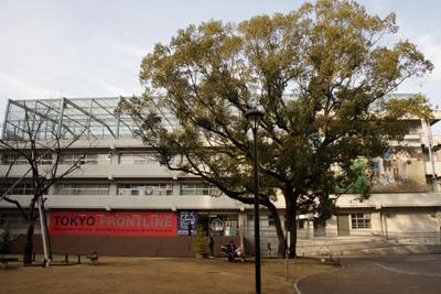 TOKYO FORNTLINE's venue, 3331 Arts Chiyoda