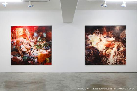 "Exhibition view of ""Puzzle"" by Kei Imazu at Yamamoto Gendai, 2013. Photo by Kioku Keizo."