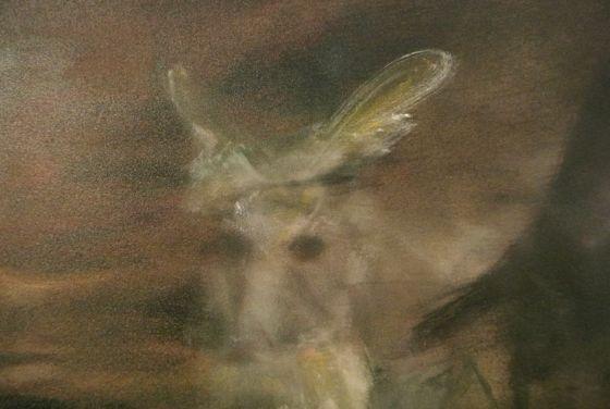 Details of the painting by Akiko Kinugawa