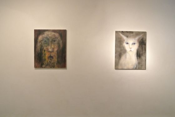 """Exhibition view of Akiko Kinugawa """"there are, there aren't"""" at Art Center Ongoing"""