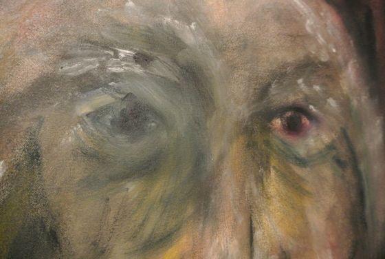 Details of the painting by Akiko Kinugawa.
