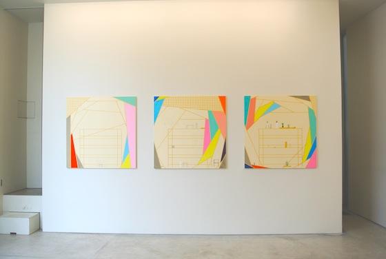 Keisuke Kondo's paintings
