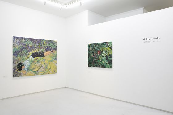 "Installation view from ""Makiko Kudo"" at 8/ ART GALLERY/ Tomio Koyama Gallery, 2013 ©Makiko Kudo Photo by Kenji Takahashi"