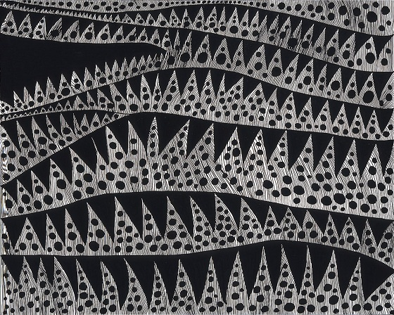 """WAVES [TWXZO]"" by Yayoi Kusama, 2007 ©YAYOI KUSAMA STUDIO Inc., Courtesy of OTA FINE ARTS."