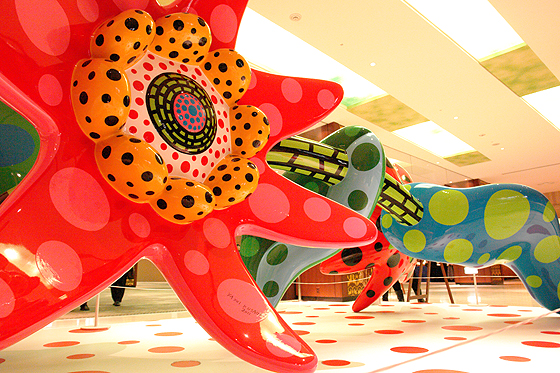 """FLOWERS THAT BLOOM TOMORROW"" by Yayoi Kusama, 2011 © YAYOI KUSAMA, Courtesy of Victoria Miro Gallery, OTA FINE ARTS."