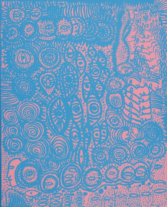 """COMPULSION"" by Yayoi Kusama, 2011 ©YAYOI KUSAMA STUDIO Inc., Courtesy of OTA FINE ARTS."