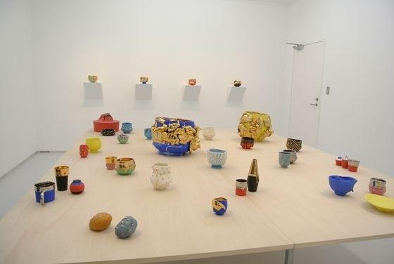 Exhibition view of Takuro Kuwata at Tomio Koyama Gallery Hikarie