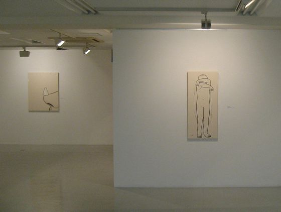 "Exhibition view of ""Stories from a Cold Country"" at Nishimura Gallery"