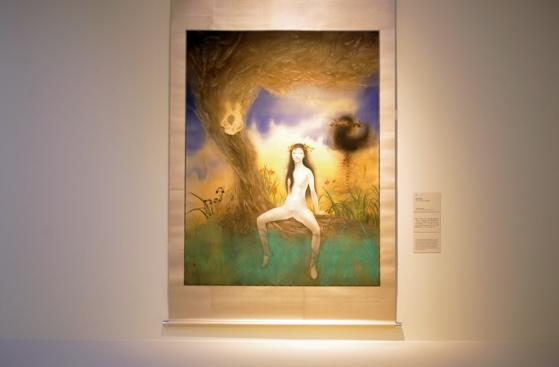"Painting ""Virgin Specimen"" by Fuyuko Matsui (2009, Mori Art Museum)"