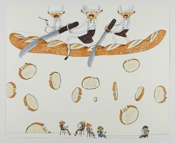 """Happiness Might be Falling"" by Shintaro Miyake, 2013 (photo: Tomio Koyama Gallery)"